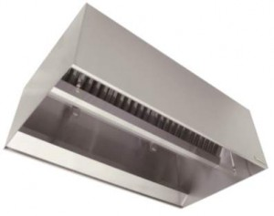 Galvanized Box Exhaust Hood
