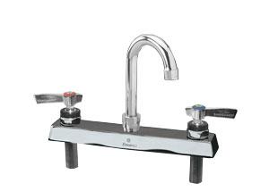 Encore 8 in Deck Mount Faucet 3-1/2 in spout length