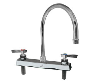 Encore 8 in Deck Mount Faucet 8-1/2 in spout length
