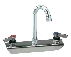Encore 8 in Splash Mount Faucet 3-1/2 in spout length