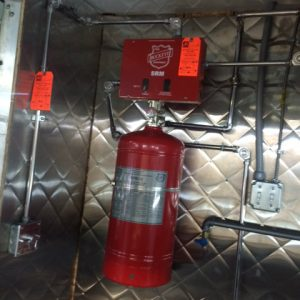 food truck extinguisher systems